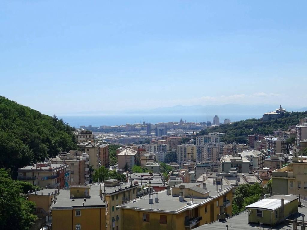 foto VISTA 3-room flat via Pasquale Berghini, Genova