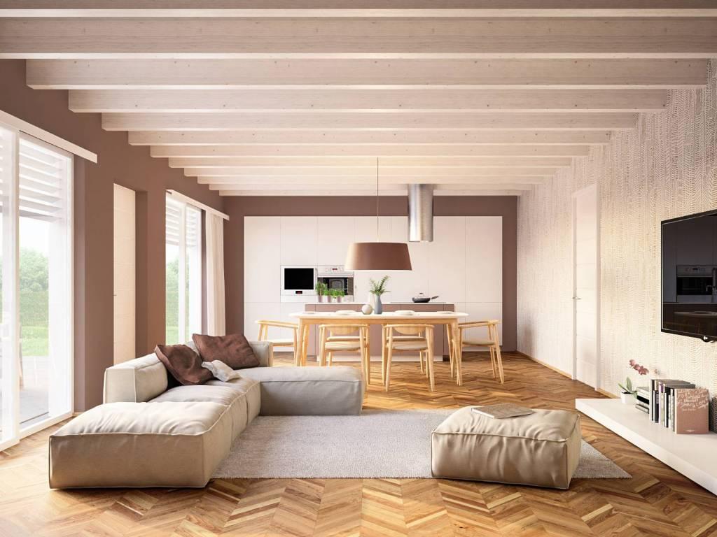 foto soggiorno Apartment in villa viale dei Frassini, Bolgare