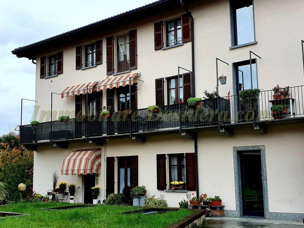 foto facciata Trilocale vicolo Giuseppe Garibaldi 8, Castelletto Sopra Ticino