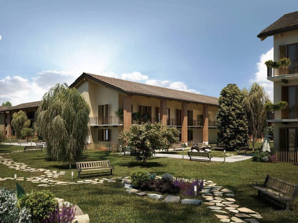 foto Esterni 4-room flat via per Monticello, San Donato Milanese