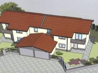 Photo - Two-family villa, new, 122 sq.m., Senna Comasco