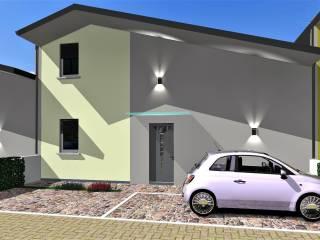Photo - Terraced house via Genova, -1, Villa Cortese