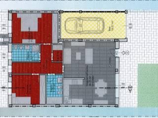 Photo - 3-room flat new, ground floor, Pontirolo Nuovo