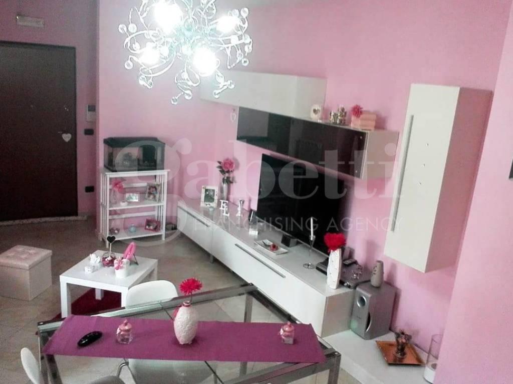 foto soggiorno 1 3-room flat via Spiniello 74, Acerra