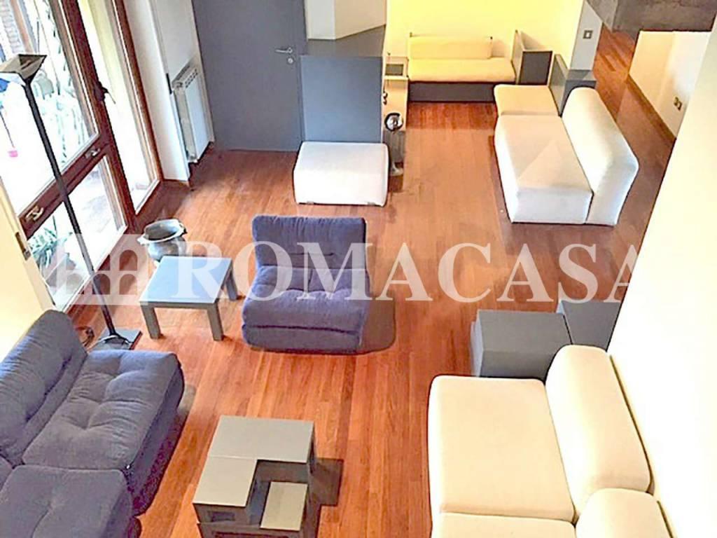 foto Sala- Attico EUR Ardeatina ROMACASA Attico via Giulio Aristide Sartorio, Roma