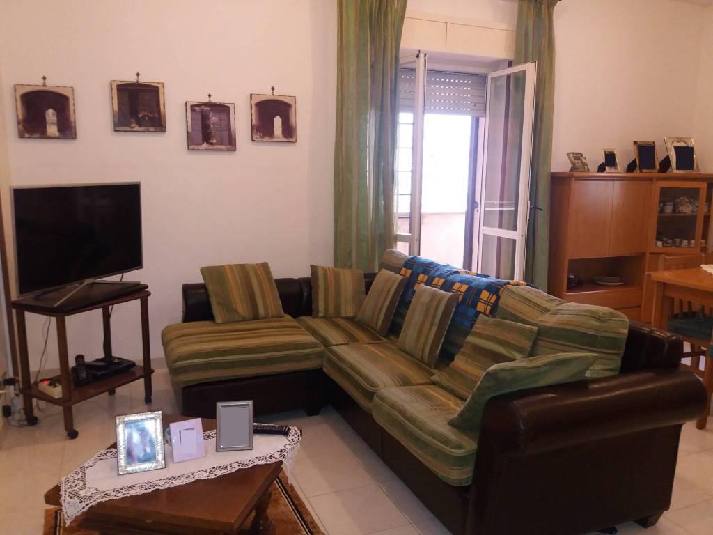 foto sala 3-room flat via Pattada, Fiumicino