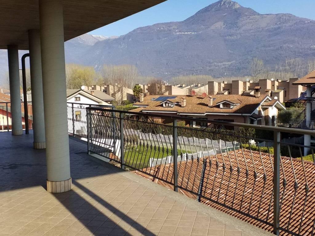foto terrazzo 2-room flat via Antonio Rosmini 3, Sant'Ambrogio di Torino