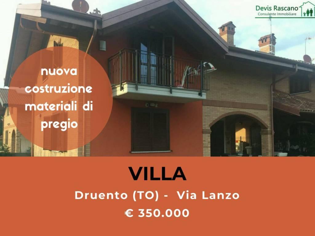 foto casa Villa unifamiliare via Lanzo, Druento