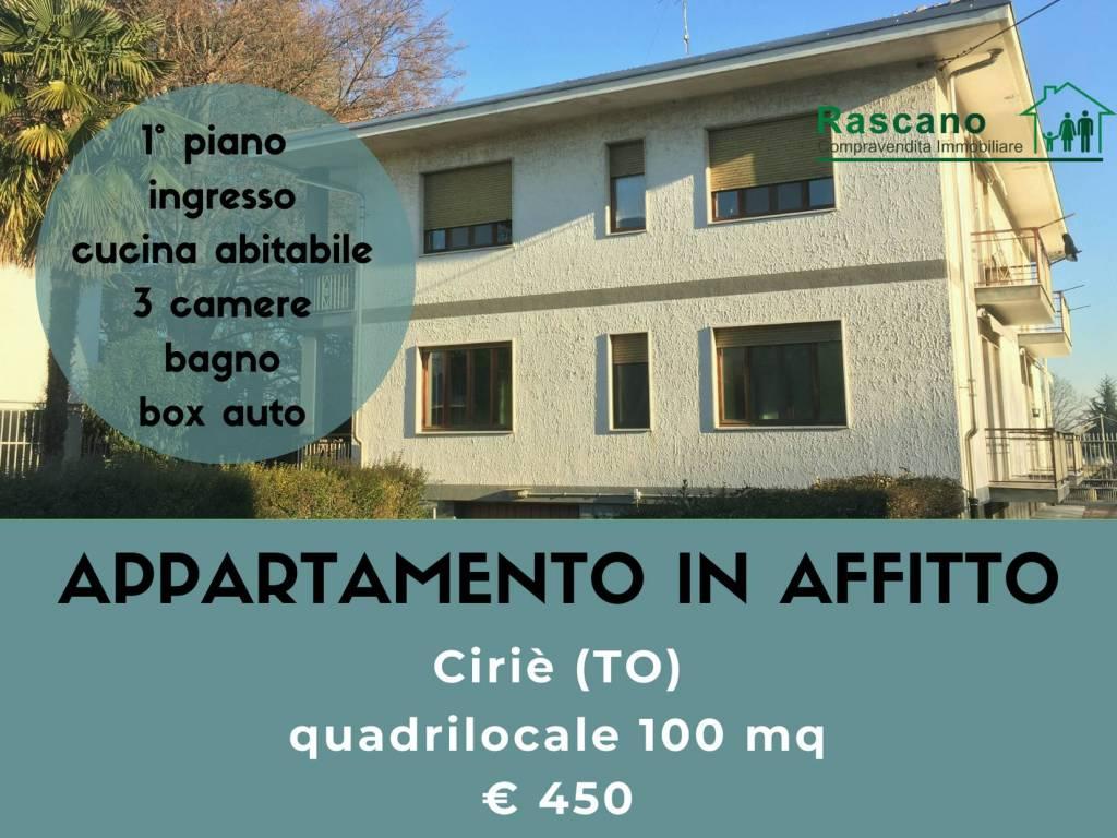 foto copertina Quadrilocale Strada Provinciale di San Maurizio, Ciriè