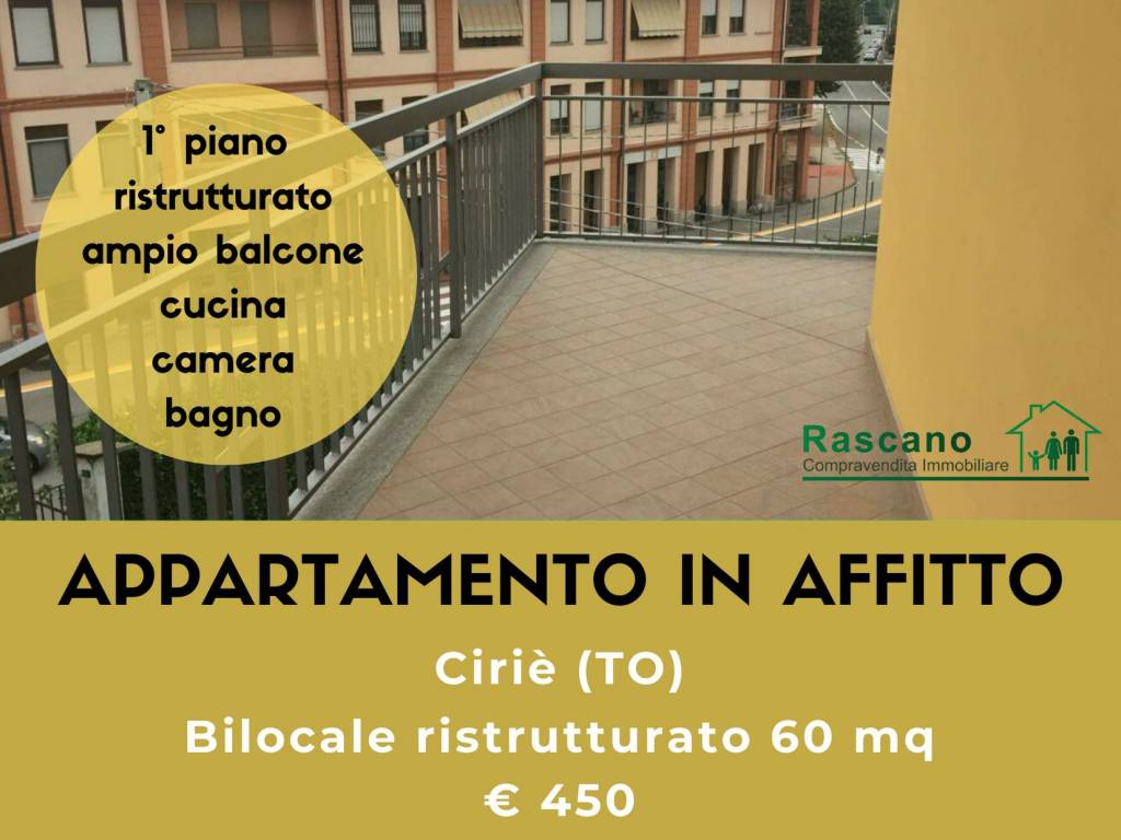 foto copertina Bilocale via Trieste, Ciriè