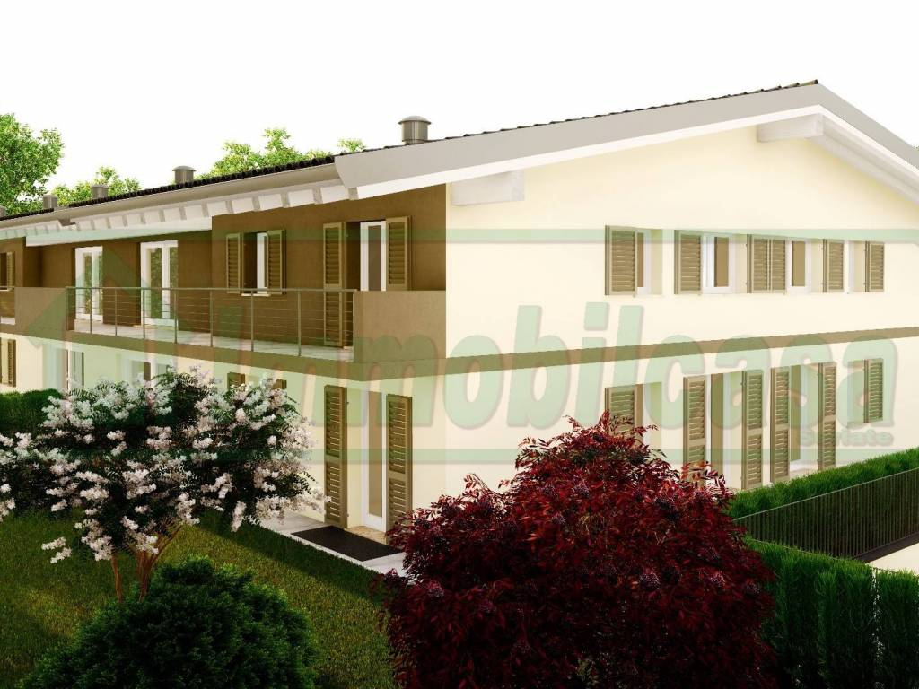 foto ESTERNO 4-room flat via Santo Stefano 2, Calcinate