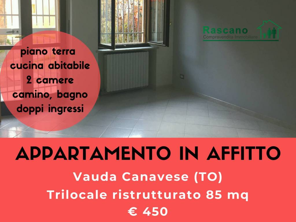 foto copertina Trilocale via B  Castagneri, Vauda Canavese