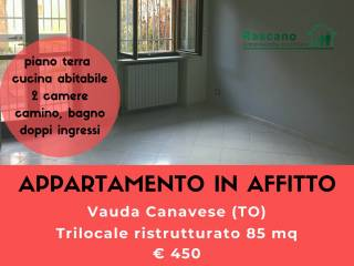 Foto - Trilocale via B  Castagneri, Vauda Canavese