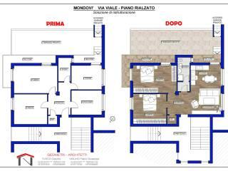 Photo - 3-room flat via G  viale, Mondovì