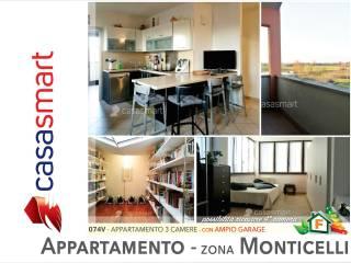 Foto - Appartamento via Galileo Ferrari 12, Monticelli Terme, Montechiarugolo