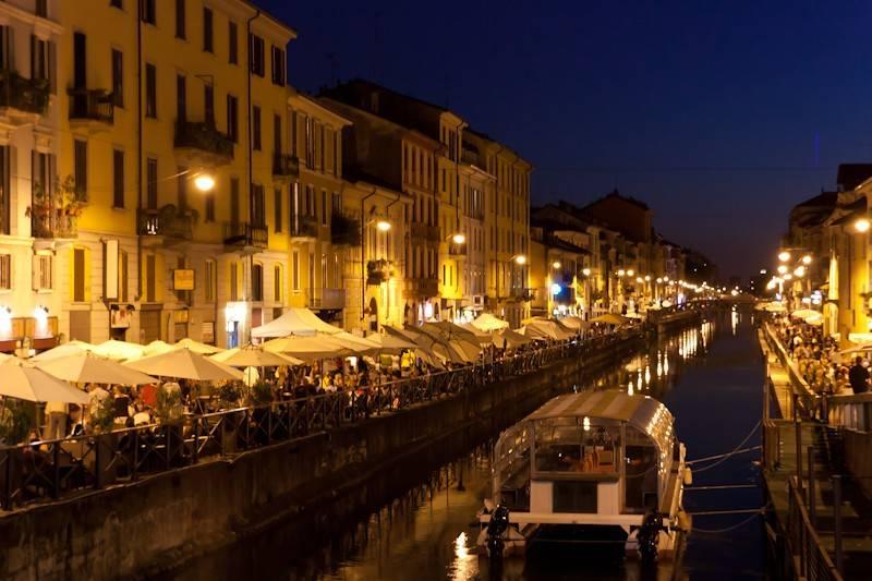 foto naviglio Bilocale Ripa di Porta Ticinese 127-a, Milano