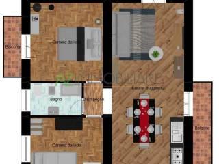 Photo - 3-room flat good condition, top floor, Acireale
