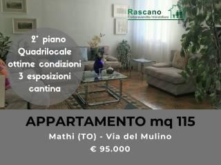 Photo - 4-room flat via Molino 47, Mathi