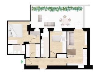 Foto - Piso de tres habitaciones via Pietro Teulié, Corso San Gottardo, Milano