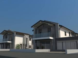 Foto - Villa unifamiliare, nuova, 130 mq, Castiglione Olona