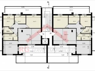 Photo - 4-room flat new, second floor, Parete