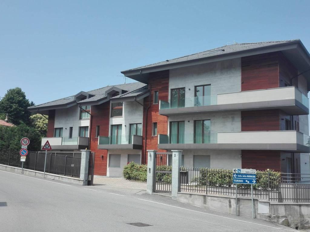 Comune Di Pecetto Torinese vendita appartamento in strada del colle. pecetto torinese