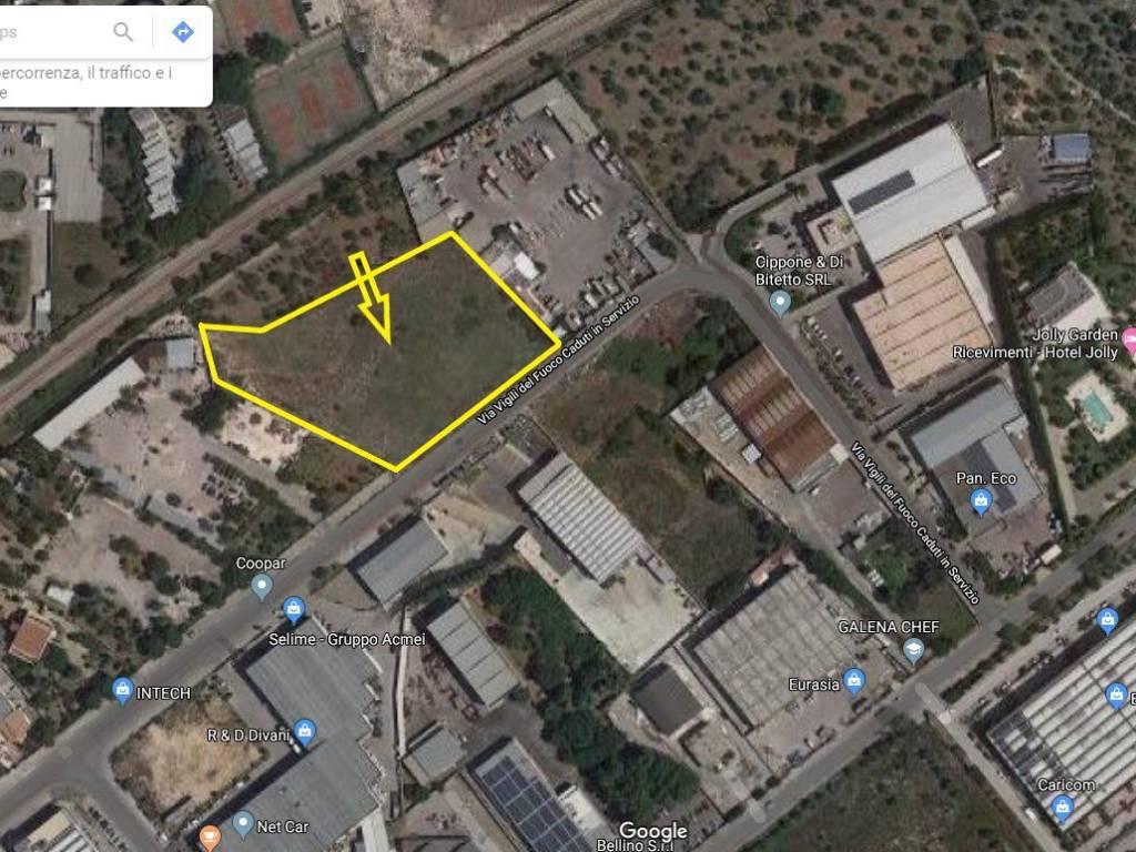 Aziende Modugno Zona Industriale vendita terreno edificabile industriale modugno   immobiliare.it