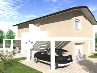 Foto - Villa bifamiliare, nuova, 150 mq, Mozzecane