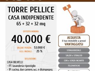 Photo - Single-family townhouse 75 sq.m., to be refurbished, Torre Pellice