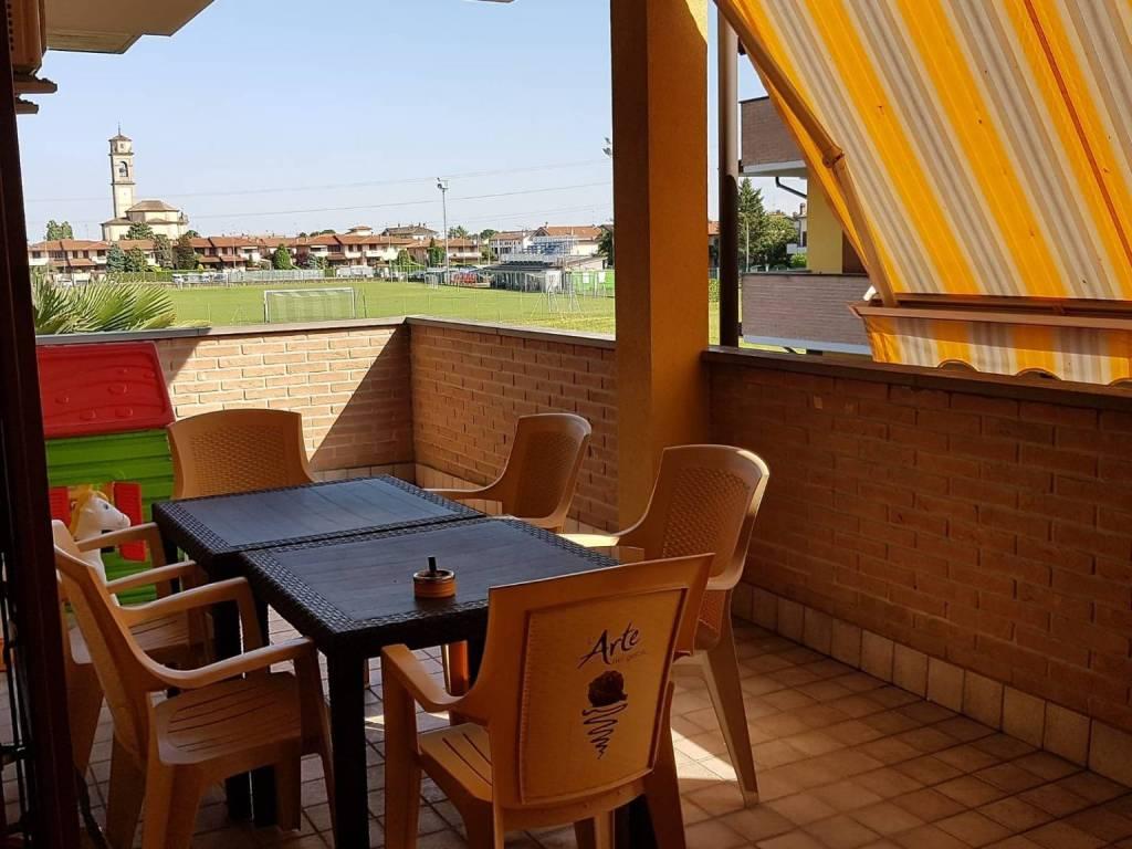 foto terrazzo 3-room flat via Giacomo Zanella 13, Truccazzano