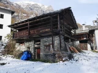 Photo - Cabin, to be refurbished, 94 sq.m., Gressoney-Saint-Jean