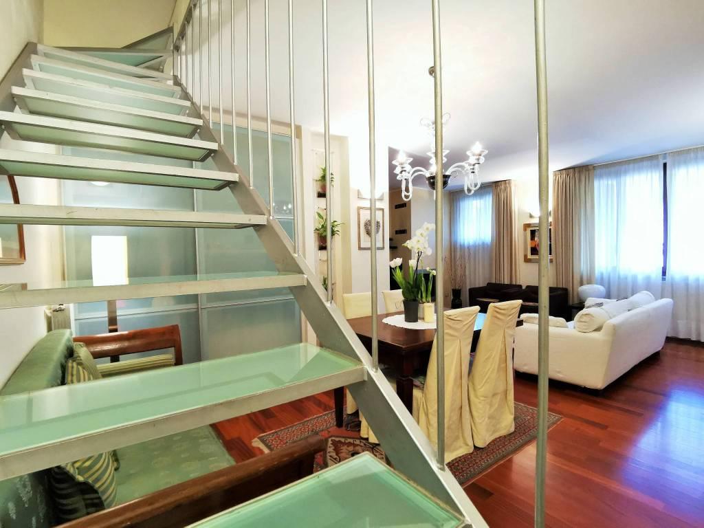 foto sogiorno Piso de cuatro habitaciones via Sergio Mulitsch, Treviglio