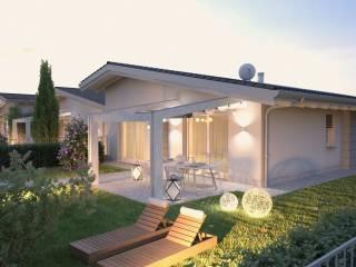 Photo - Single family villa, new, 135 sq.m., Martinengo