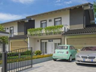 Foto - Villa a schiera via Pesio 51, Corneliano d'Alba