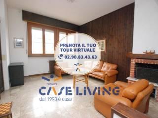 Foto - Villa a schiera via Pitagora, Binasco