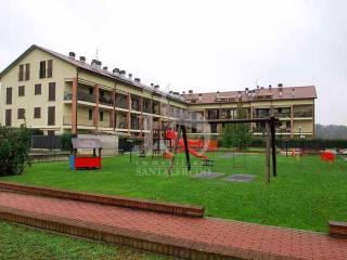 Foto - Trilocale via Sanatorio, 7, Santuario Di Ornago, Ornago
