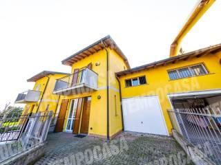 Foto - Villa a schiera via Boschina, Capralba