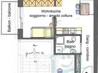 Foto - Monolocale nuovo, primo piano, San Giorgio, Brunico