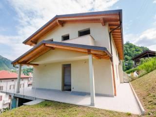 Foto - Villa bifamiliare via Ponte  16, Zogno