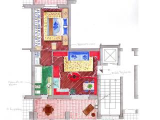 Foto - Bilocale nuovo, secondo piano, Colnago, Cornate d'Adda