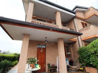 Foto - Villa a schiera via Fratelli Rosselli, Arosio