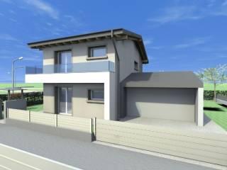 Foto - Villa unifamiliare, nuova, 145 mq, Calcinate
