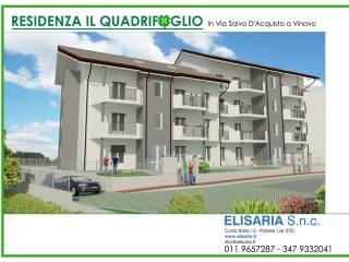 Foto - Quadrilocale via Salvo D'Acquisto, Semicentro, Vinovo