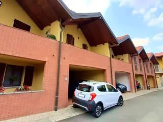 Foto - Villa a schiera via Roma 112D, Samarate