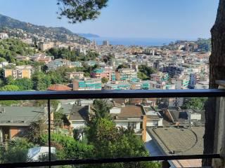 Foto - Trilocale via del Castellino 23, Golf - Castellino, Rapallo