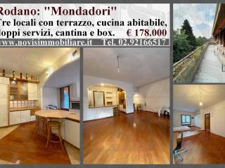 Foto - Trilocale via Alcide De Gasperi, Rodano