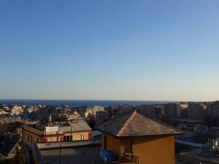 Foto - Quadrilocale via Fratelli Canale, Borgoratti, Genova