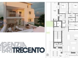 Foto - Attico nuovo, 130 mq, Selvana, Treviso