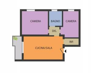 Photo - 3-room flat good condition, second floor, Pieve di Cento