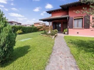 Foto - Villa a schiera via Brescia, Ghedi